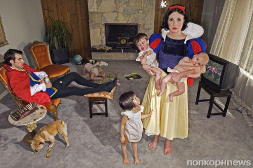 Принцессы фотографа Дины Гольдштайн: они не жили долго и счастливо