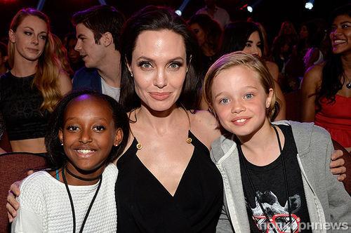 Анджелина Джоли считает детей своим величайшим достижением