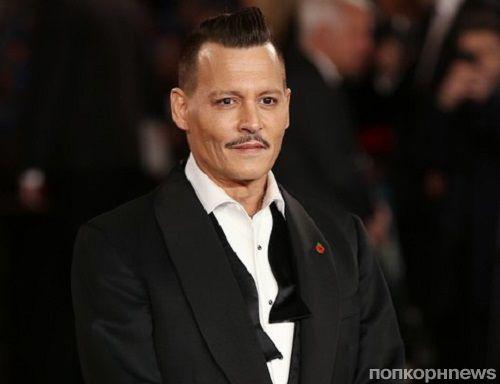 Джонни Депп вышел пьяным на красную дорожку премьеры «Убийства в Восточном экспрессе»