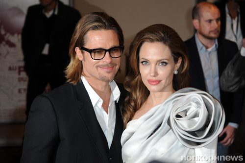 Брэд Питт подарил Анджелине Джоли ранний свадебный подарок