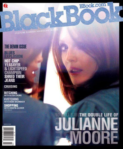 Джулианна Мур в журнале BlackBook. Март 2010.