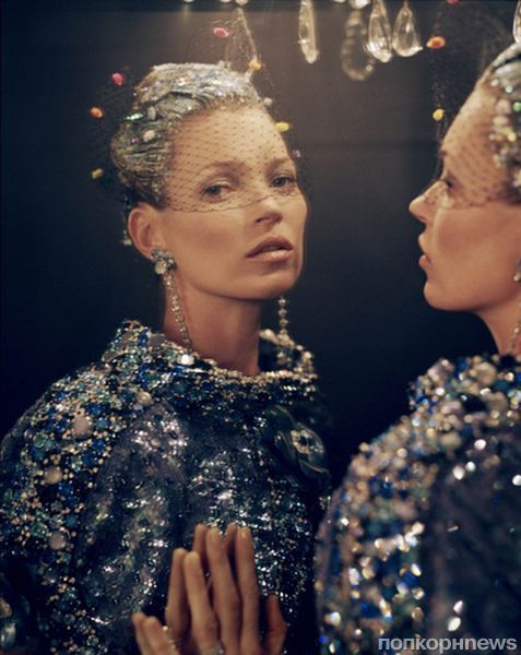 Кейт Мосс в журнале Vogue US. Апрель 2012