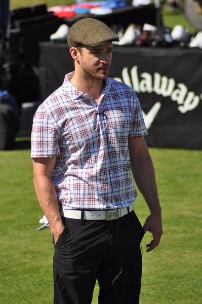 Джастин Тимберлейк на благотворительном турнире по гольфу