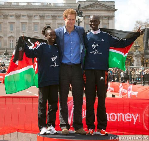 Принц Гарри записал своего брата в марафонцы