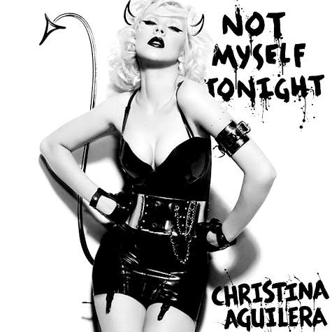 "Обложка нового сингла ""Not Myself Tonight"" Кристины Агилеры"