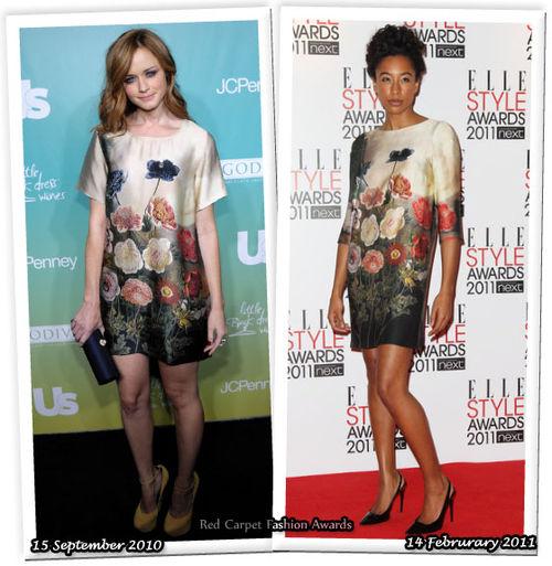 Fashion Battle: Алексис Бледел и Коринн Бэйли Рэй