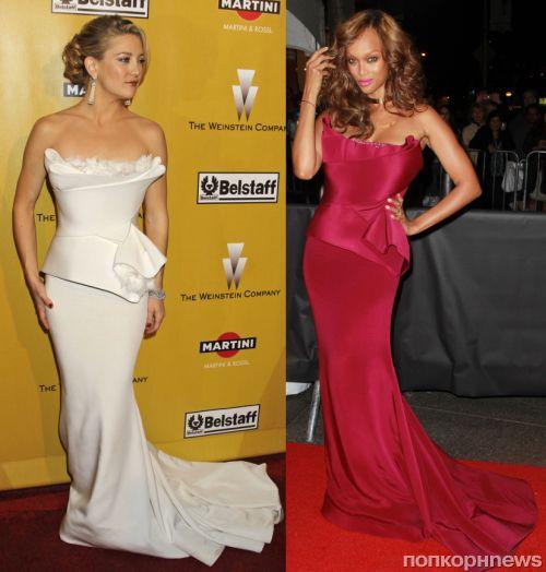 Fashion battle: Кейт Хадсон и Тайра Бэнкс