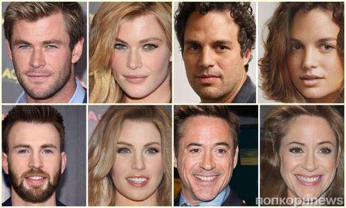 Фото: как выглядели бы Крис Эванс, Себастиан Стэн и другие красавцы Marvel, если бы стали… девушками