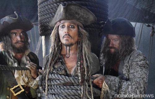 Первое фото: Джонни Депп в новых «Пиратах Карибского моря 5»