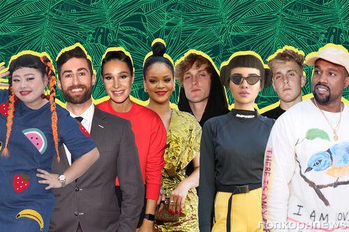 От BTS до Кайли Дженнер: назван список самых влиятельных в интернете людей
