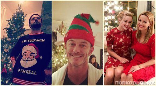 Фото: как звезды отметили Рождество