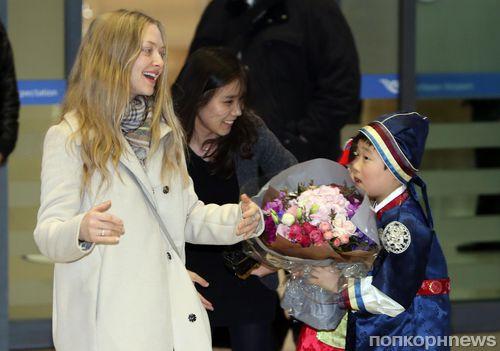Аманда Сейфрид отметила день рождения в Южной Корее