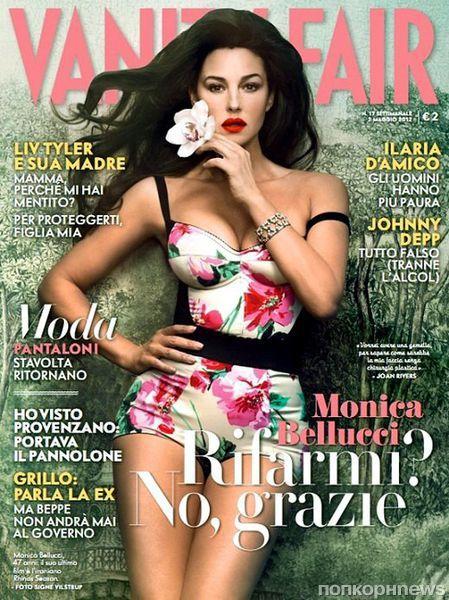 Моника Беллуччи в журнале Vanity Fair Италия. Май 2012