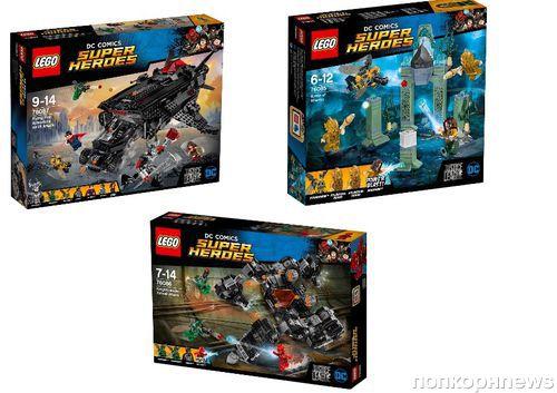Супергерои DC объединятся в новинках LEGO® DC Comics Super Heroes
