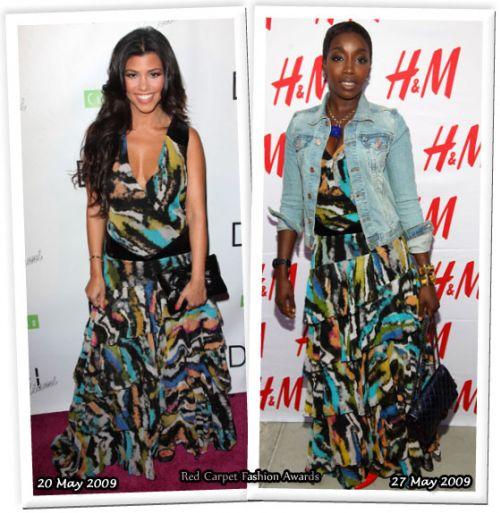 Fashion battle: Кортни Кардашян и Эстель