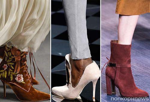 Фото обзор: какая обувь будет модной осенью и зимой 2017-2018