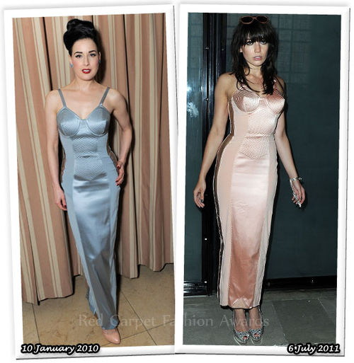 Fashion Battle: Дита фон Тиз и Дэйзи Лоу