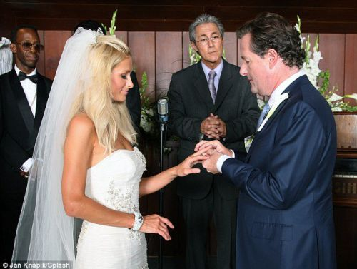 Пэрис Хилтон вышла замуж?