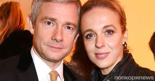 Аманда Аббингтон впервые откровенно рассказала о расставании с Мартином Фриманом