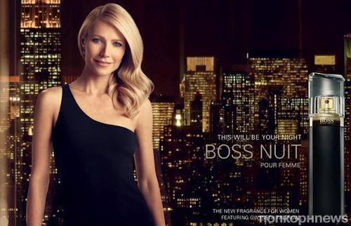 Первый взгляд на Гвинет Пэлтроу в рекламной кампании Hugo Boss