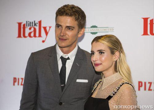 Фото: Эмма Робертс и Хайден Кристенсен на премьере «Маленькой Италии» в Торонто