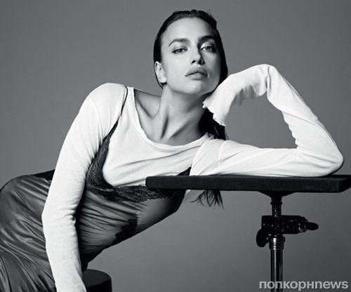 Ирина Шейк в стильной фотосессии для испанского Harper's Baazar, декабрь 2015