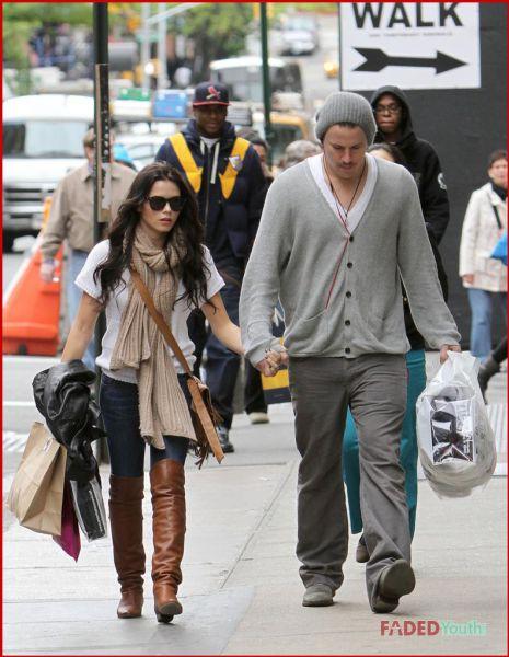 Ченнинг Тэйтум и Дженна Девон на улицах Нью-Йорка