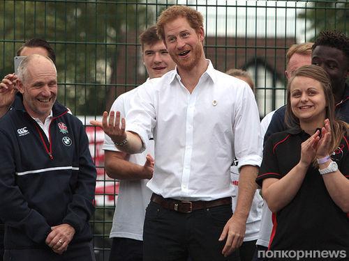 Шестилетняя девочка предложила принцу Гарри руку и сердце