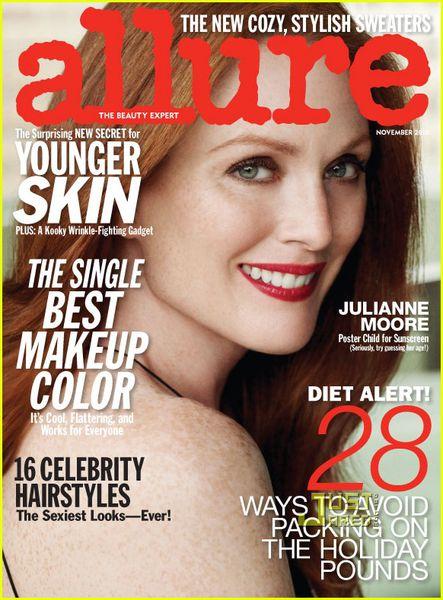 Джулианна Мур в журнале Allure. Ноябрь 2010