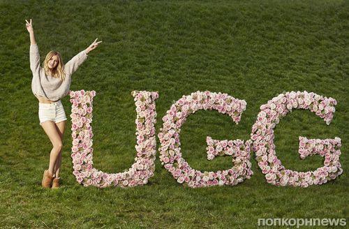 Рози Хантингтон-Уайтли стала «лицом» и «ногами» обуви Ugg