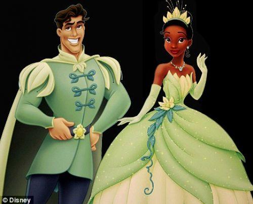 Принц и принцесса занимаются сексом