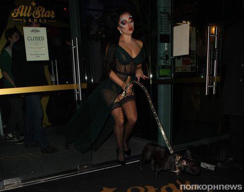 Экстравагантная Lady GaGa в Манчестере