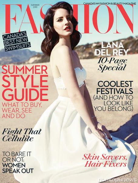 Лана Дель Рей в журнале Fashion. Лето 2013