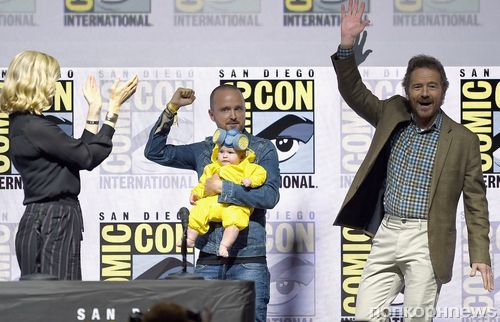 Фото: каст «Во все тяжкие» воссоединился на Comic-Con в Сан-Диего