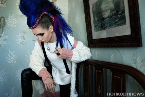 Лили Коллинз в журнале Flaunt. Сентябрь 2013