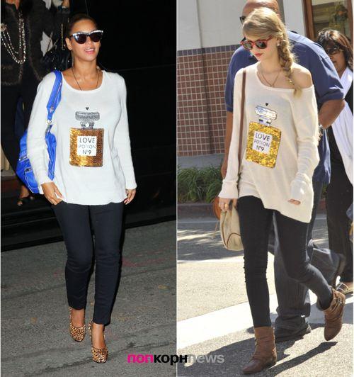 Fashion Battle: Бейонсе и Тэйлор Свифт
