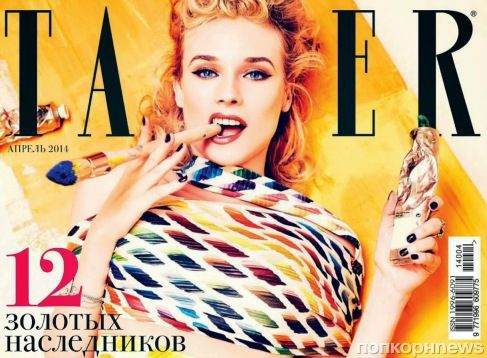 Диана Крюгер в журнале Tatler. Россия. 2014