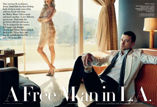 Джастин Тимберлейк в журнале Vanity Fair. Июль 2011