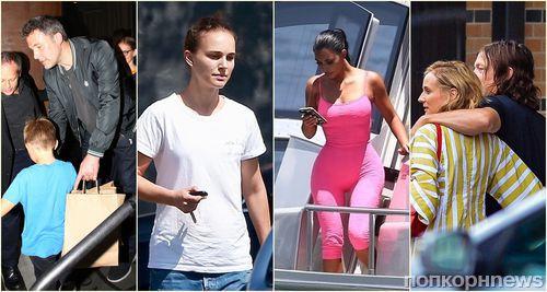 Стоп-кадр: Нина Добрев, Анджелина Джоли, Ким Кардашьян и другие