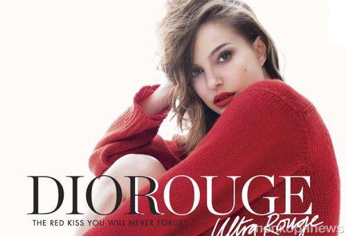Натали Портман в новой рекламной кампании Dior Rouge