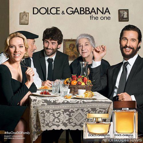 Скарлетт Йоханссон и Мэттью Макконахи снялись в рекламе Dolce & Gabbana