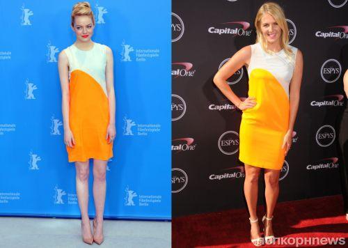 Fashion battle: Эмма Стоун и Стефани Гилмор