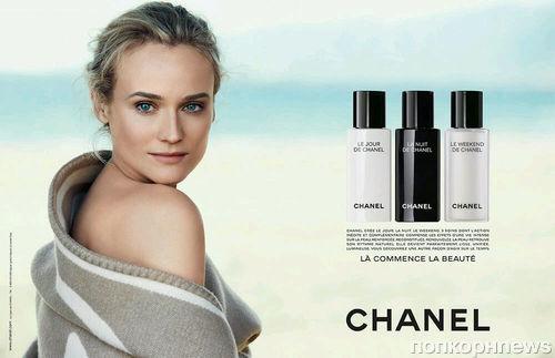 Диана Крюгер в рекламной кампании Chanel Beauty: первый взгляд