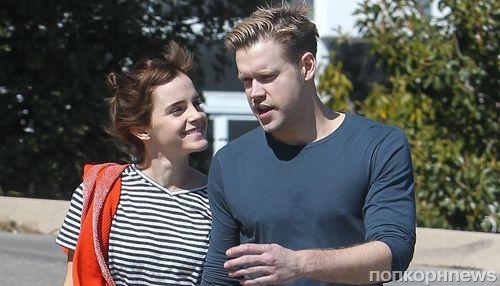 Фото: Эмму Уотсон и Корда Оверстрита застали за поцелуями в Лос-Анджелесе