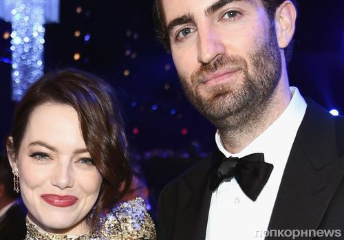 Новый уровень отношений: Эмма Стоун приехала на Премию гильдии актеров с бойфрендом