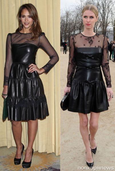 Fashion battle: Джессика Альба и Ники Хилтон