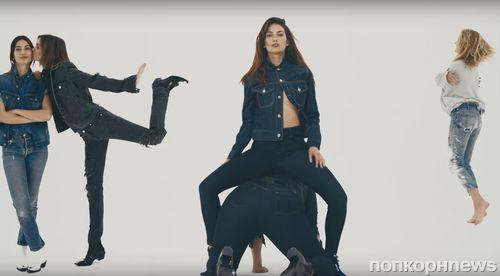 Миранда Керр, Эшли Грэм и другие модели в рекламном ролике Vogue