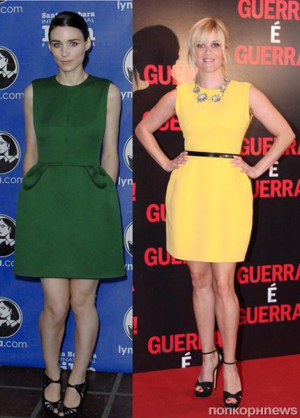 Fashion battle: Руни Мара и Риз Уизерспун