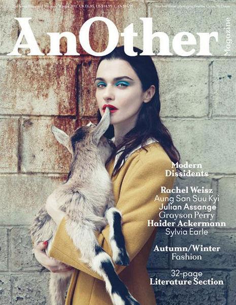 Рэйчел Вайс в журнале AnOther № 21
