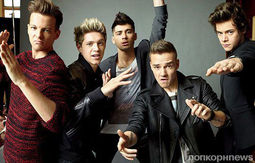 One Direction в журнале Teen Vogue. Сентябрь 2013